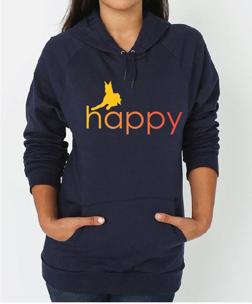 Righteous Hound - Unisex Happy Great Dane Hoodie