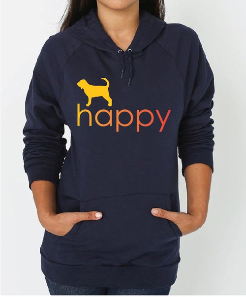 Righteous Hound - Unisex Happy Bloodhound Hoodie