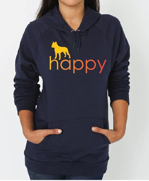 Righteous Hound - Unisex Happy Staffordshire Terrier Hoodie