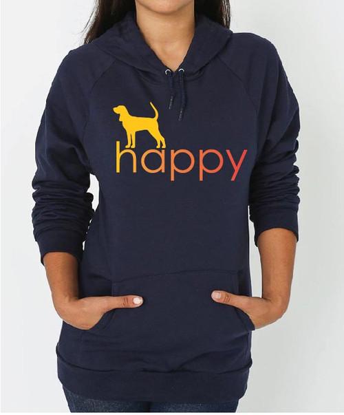 Righteous Hound - Unisex Happy Coonhound Hoodie