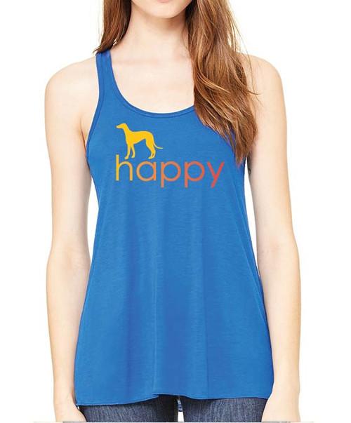 Righteous Hound - Flowy Happy Greyhound Tank