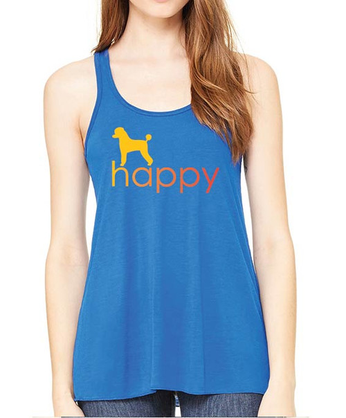 Righteous Hound - Flowy Happy Poodle Tank
