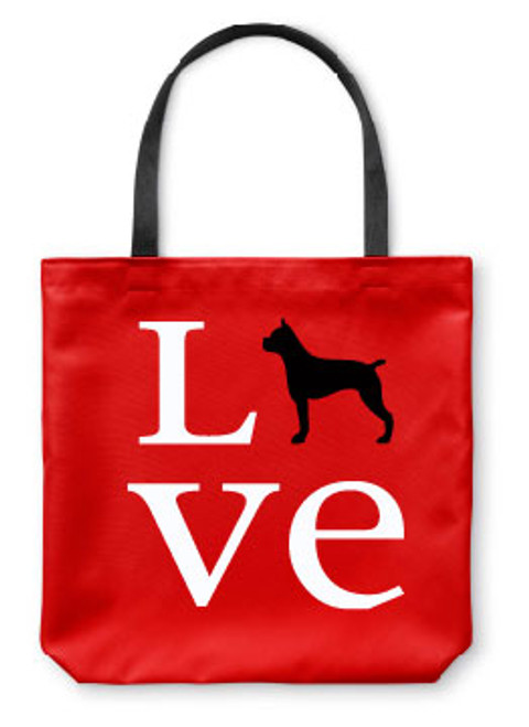Righteous Hound - Love Boxer Tote Bag