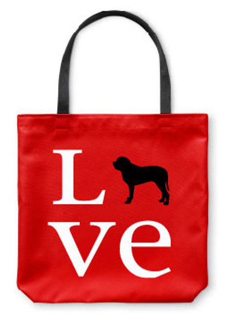 Righteous Hound - Love Mastiff Tote Bag