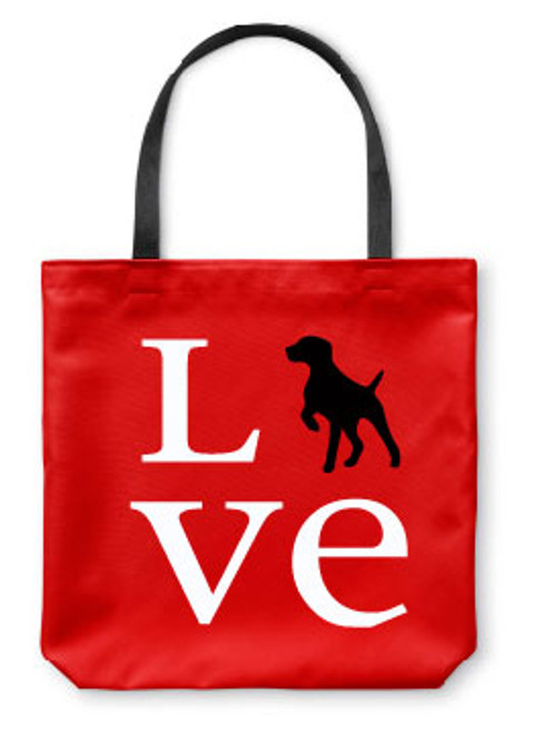 Righteous Hound - Love German Shorthaired Pointer Tote Bag