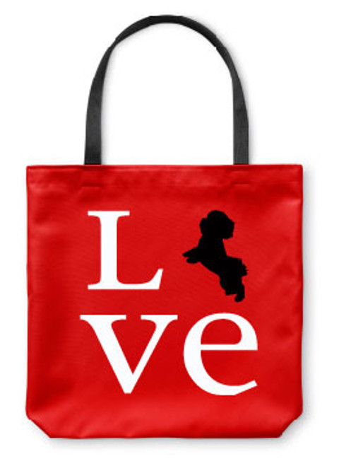 Righteous Hound - Love Maltese Tote Bag