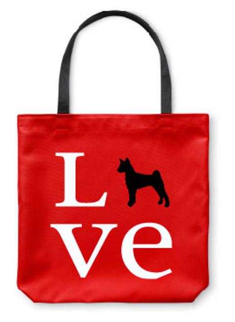 Righteous Hound - Love Basenji Tote Bag
