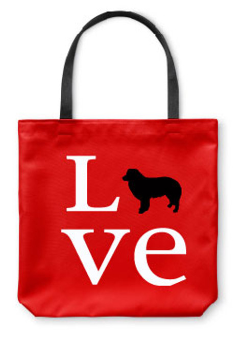 Righteous Hound - Love Border Collie Tote Bag