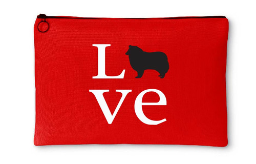 Collie Love Accessory Pouch