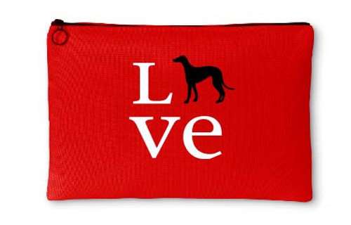 Righteous Hound - Love Greyhound Accessory Pouch