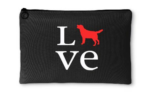 Labrador Retriever Love Accessory Pouch