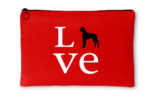Righteous Hound - Love Great Dane Accessory Pouch