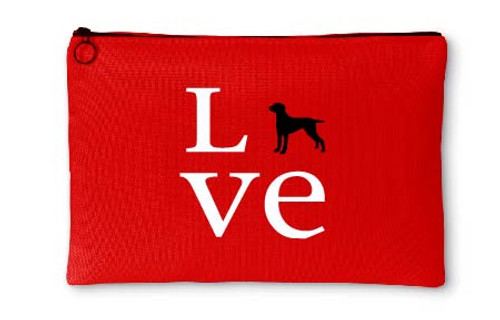 Righteous Hound - Love Weimaraner Accessory Pouch