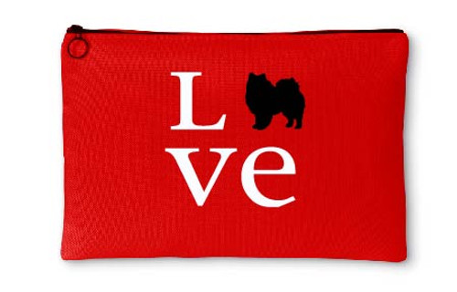 Righteous Hound - Love American Eskimo Dog Accessory Pouch