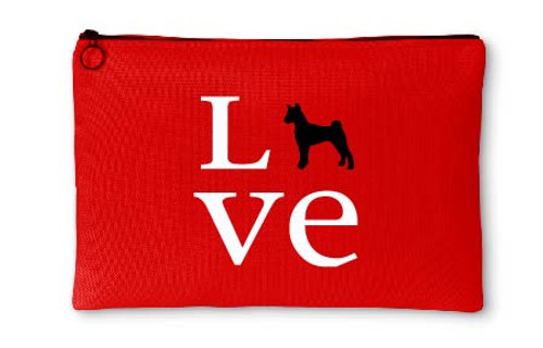 Righteous Hound - Love Basenji Accessory Pouch