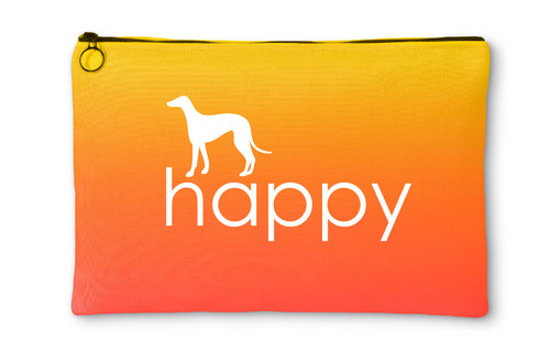 Righteous Hound - Happy Greyhound Accessory Pouch