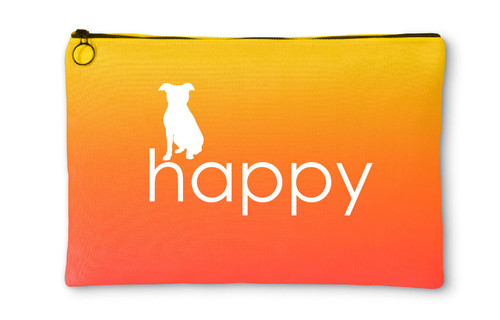 Righteous Hound - Happy Pitbull Accessory Pouch