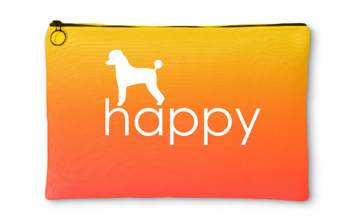 Righteous Hound - Happy Poodle Accessory Pouch