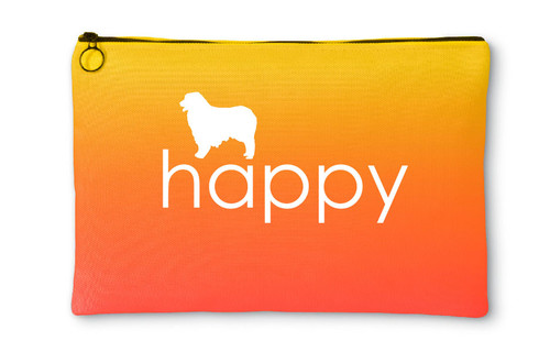 Righteous Hound - Happy Australian Shepherd Accessory Pouch