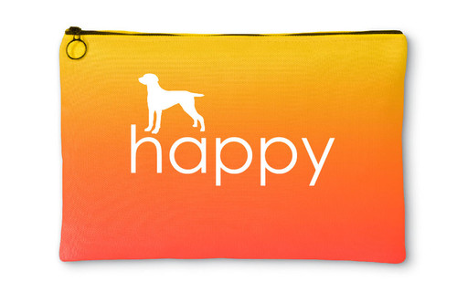 Righteous Hound - Happy Weimaraner Accessory Pouch