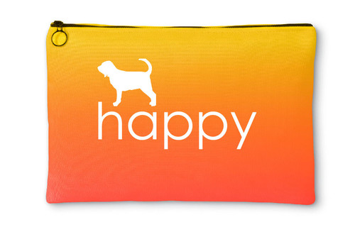 Righteous Hound - Happy Bloodhound Accessory Pouch