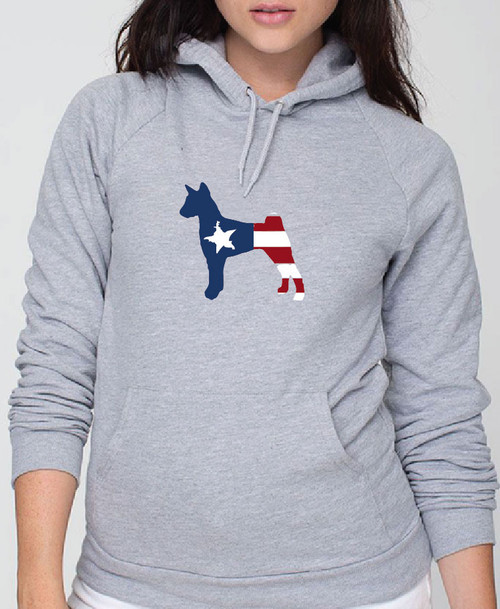Righteous Hound - Unisex Patriot Basenji Hoodie