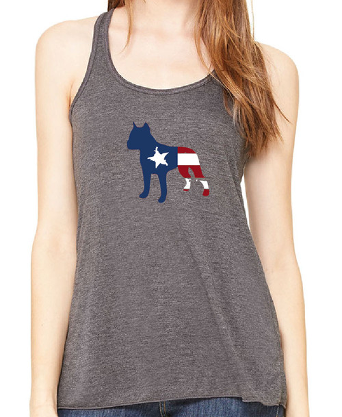 Righteous Hound - Flowy Patriot Staffordshire Terrier Tank
