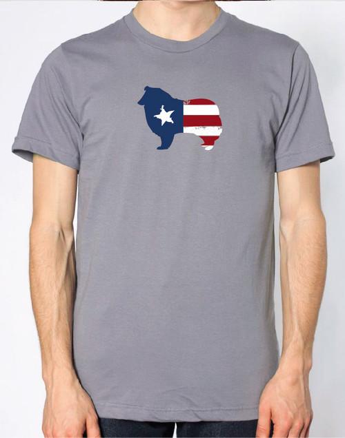Righteous Hound - Men's Patriot Collie T-Shirt