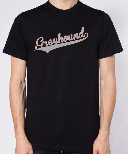 Righteous Hound - Men's Varsity Greyhound T-Shirt
