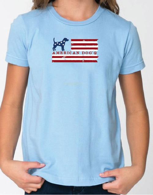 Righteous Hound - Kid's Flag Beagle Tee