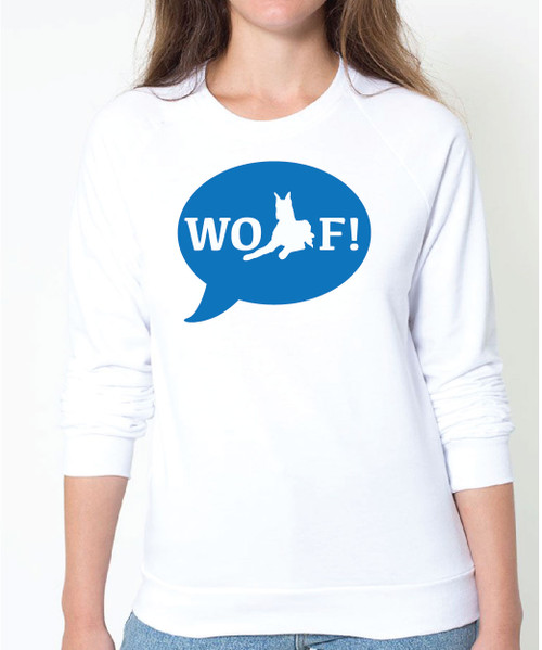Righteous Hound - Unisex WOOF! Great Dane Sweatshirt