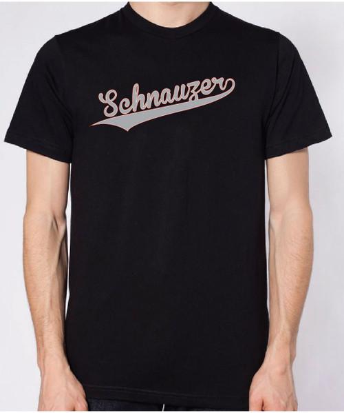 Righteous Hound - Unisex Varsity Schnauzer T-Shirt