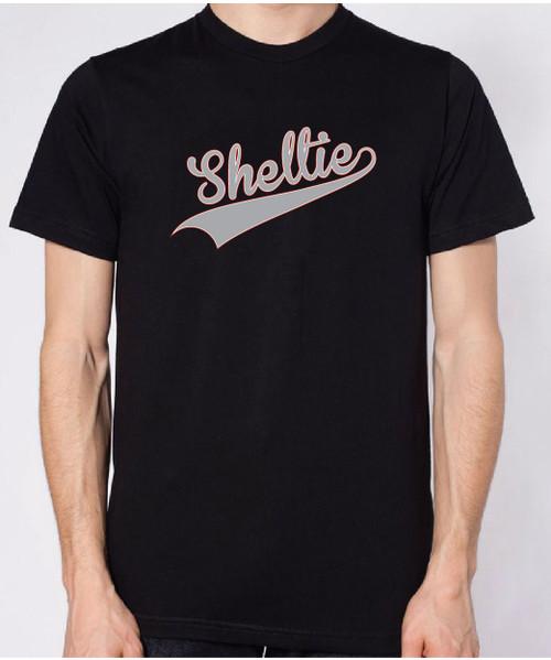 Righteous Hound - Unisex Varsity Shetland Sheepdog T-Shirt