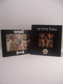 Furry Friends 2-Piece Picture Frame Set