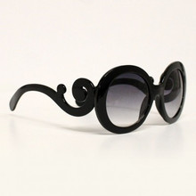 Swirl Rounded Retro Sunglasses