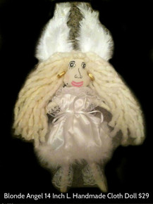 Blonde Angel Hamdmade Collectable