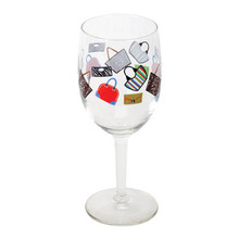 4-piece Purse Wine Glass Set