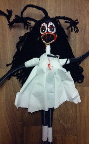 Black Zombie Doctor Zombie Doll