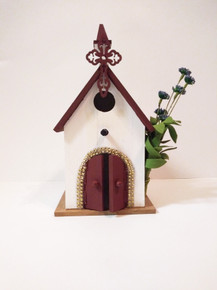 Church Bird House / Bird Feeder