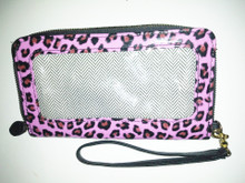 Pink Cheetah Print Wallet