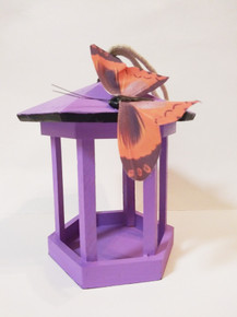 Purple Gazebo Birdfeeder