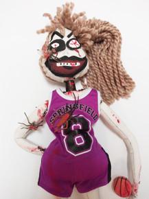 Girl Basketball Zombie