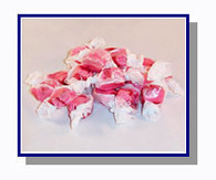-Schooner Pete's Cranberry Salt Water Taffy - 1/2 lb