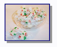 *Schooner Pete's Christmas Peppermint Salt Water Taffy - 5 lbs