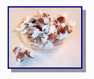 *Schooner Pete's Hot Buttered Rum Salt Water Taffy - 5 lbs