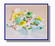 *Schooner Pete's Salt Water Taffy Christmas Mix - 1/2 lb