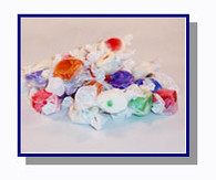 -Schooner Pete's Salt Water Taffy Oregon Mix - 1/2 lb