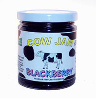Cow Jam MOUNTAIN BLACKBERRY JAM - 12 oz. jar