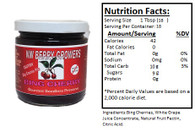 NORTHWEST BERRY GROWERS FRUIT-SWEETENED BING CHERRY PRESERVES - 10 oz. jar
