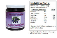 NORTHWEST BERRY GROWERS SEEDLESS MARIONBERRY - 12 oz.jar